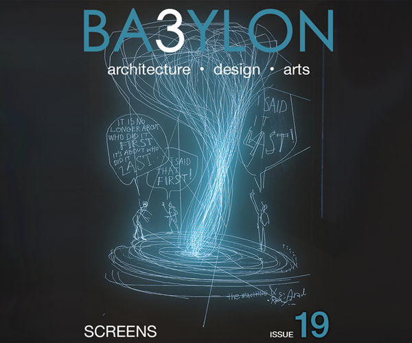 Screens, or panels, monitors and quadrants, but also walls and facades. Analogue screens and virtual screens, mental screens, ancient and future, real or imaginary screens. Babylon 19 presents different interpretations of the tool that has revolutionised our way of viewing and of imagining all things.